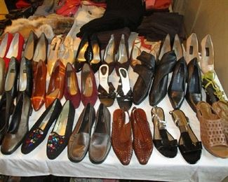 Women shoes, most are brand-new or hardly ever used