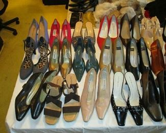 Women's shoes, mostly brand new or hardly ever used
