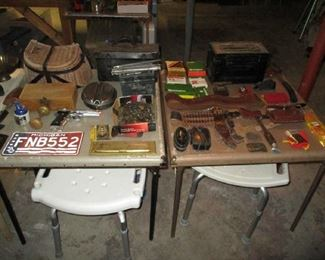 Basement items and tools