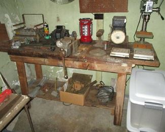 Tools and basement items