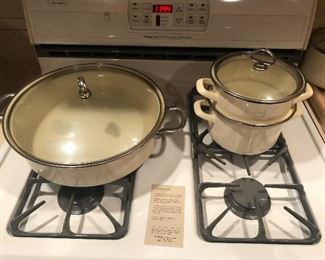 Chantal pots and pans