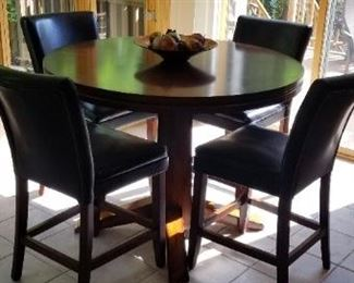 Hi Top Kitchen Table and Chairs