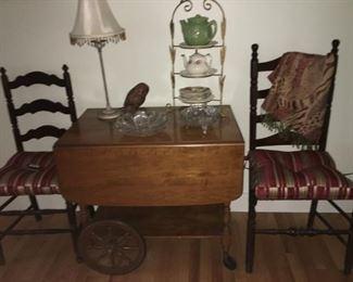 Ethan Allen tea cart