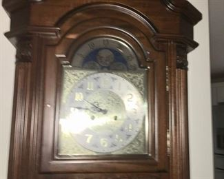 Top of Grandfather clock