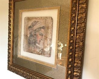 Tuscan Tiles in gorgeous frames