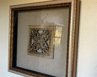 Framed Tuscan Medallion