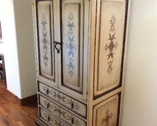 Gorgeous handpainted Nativa Cabinet