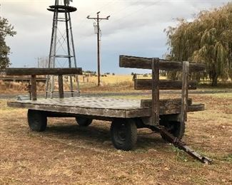 Nice old cotton bale wagon