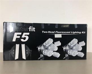 Interfit F5 TwoHead Fluorescent Lighting Kit