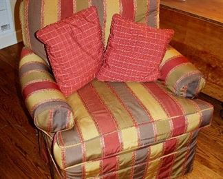 Upholstered armchairs (2 of these)