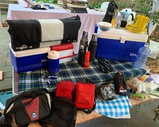Camping, Hiking and Sporting Equipment