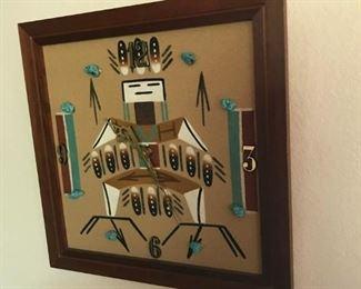 SW Sandstone Clock