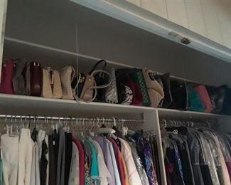 Check out the handbag selection