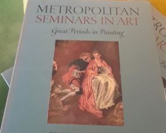 Complete set of twelve of the Metropolitan Seminars in Art books