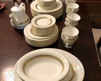 "Wedgwood ""Argyle"" pattern 12 places settings"