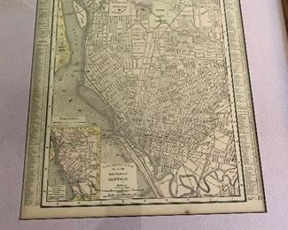 1901 Buffalo NY map