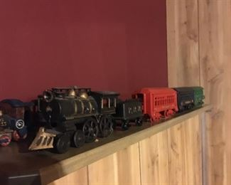 Cast Metal Toy or Display Train