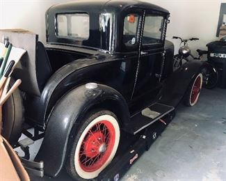 1931 Ford Model A 5 Window Coupe in excellent condition! No rips or tears anywhere! More pictures at the end of picture album.  Asking $14,500 obo.