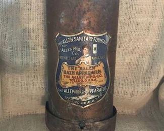 """Antique """"Allen Bath Apparatus"""" by Allen Mfg. Co Ohio 1900-1908"""
