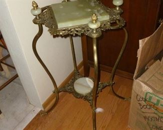 Marble top stand