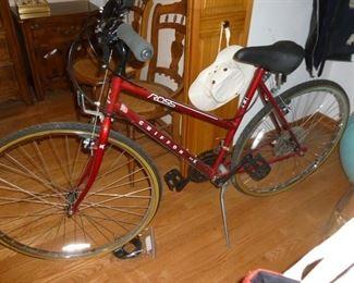 One of 2 bikes