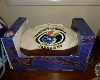 Kansas Jayhawks signed football