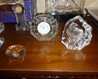 More waterford & other crystal