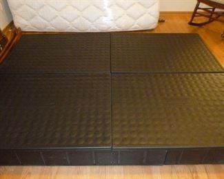 Base for sleep number mattress