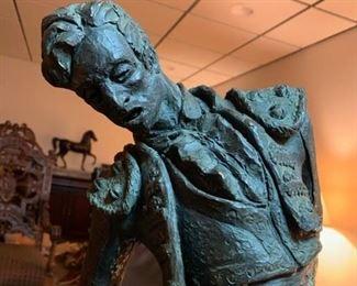 Sculpture of a Matador by Thomas Holland
