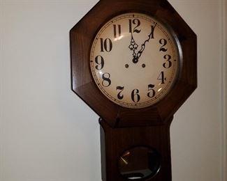 Trend (Sligh) wall clock made in Zeeland, MI