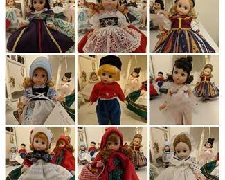 Madam Alexander doll collection