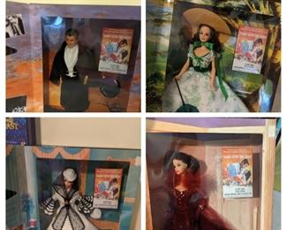 Gone with the Wind barbie collection
