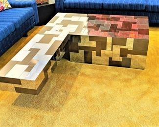 Paul Evans Directional Cityscape Coffee Table