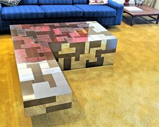 Paul Evans Cityscape Directional Coffee Table