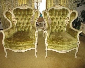 Deutsch Brothers Louis XV Style French Provincial Wood Chair