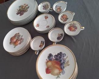 Porcelain Bavarian Dinnerware