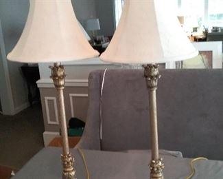 Pair of Elegant Accent Lamps