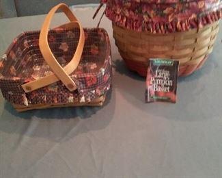 Longaberger Autumn Baskets