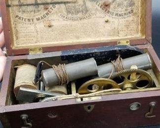 Davis and Kidders Patent Magneto Electric Machine
