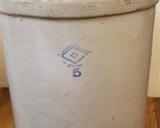 Southern Potteries 5 gallon crock