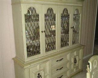 Large china cabinet