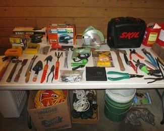 Garage and yard tools