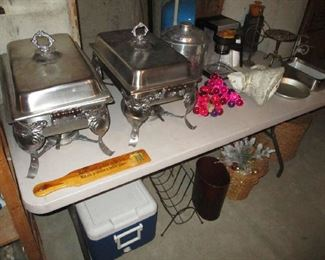 Basement items and household