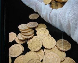 1935 Swiss Helvetia gold coins