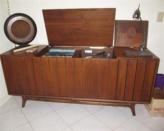 Mid century modern Zenith console