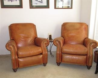 Love these leather recliners!