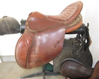 Crosby Marathon english saddle