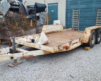 Equipment trailer