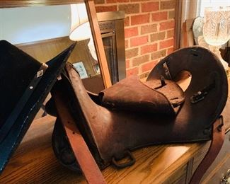 WWII 12 in Calvary saddle
