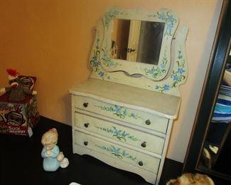 Handpainted Doll Dresser